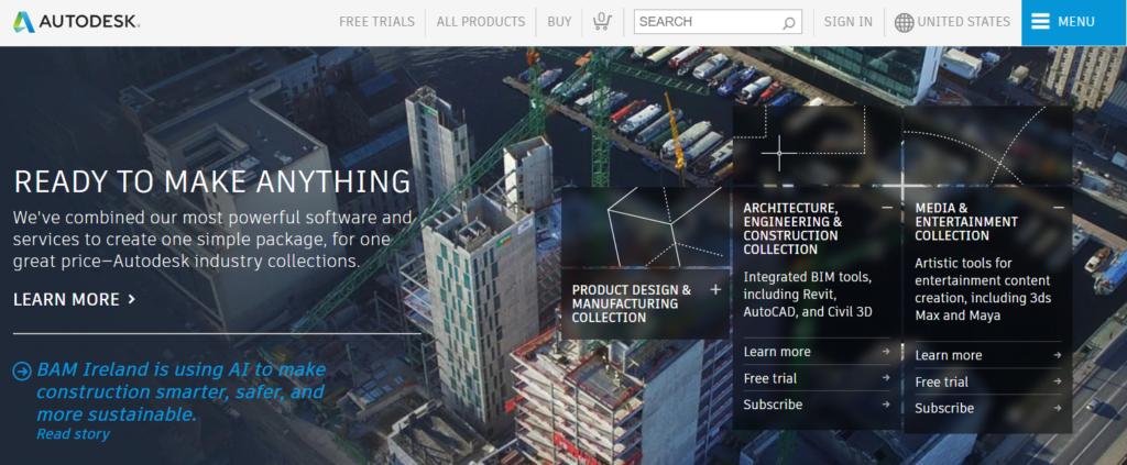 AutoDesk Website