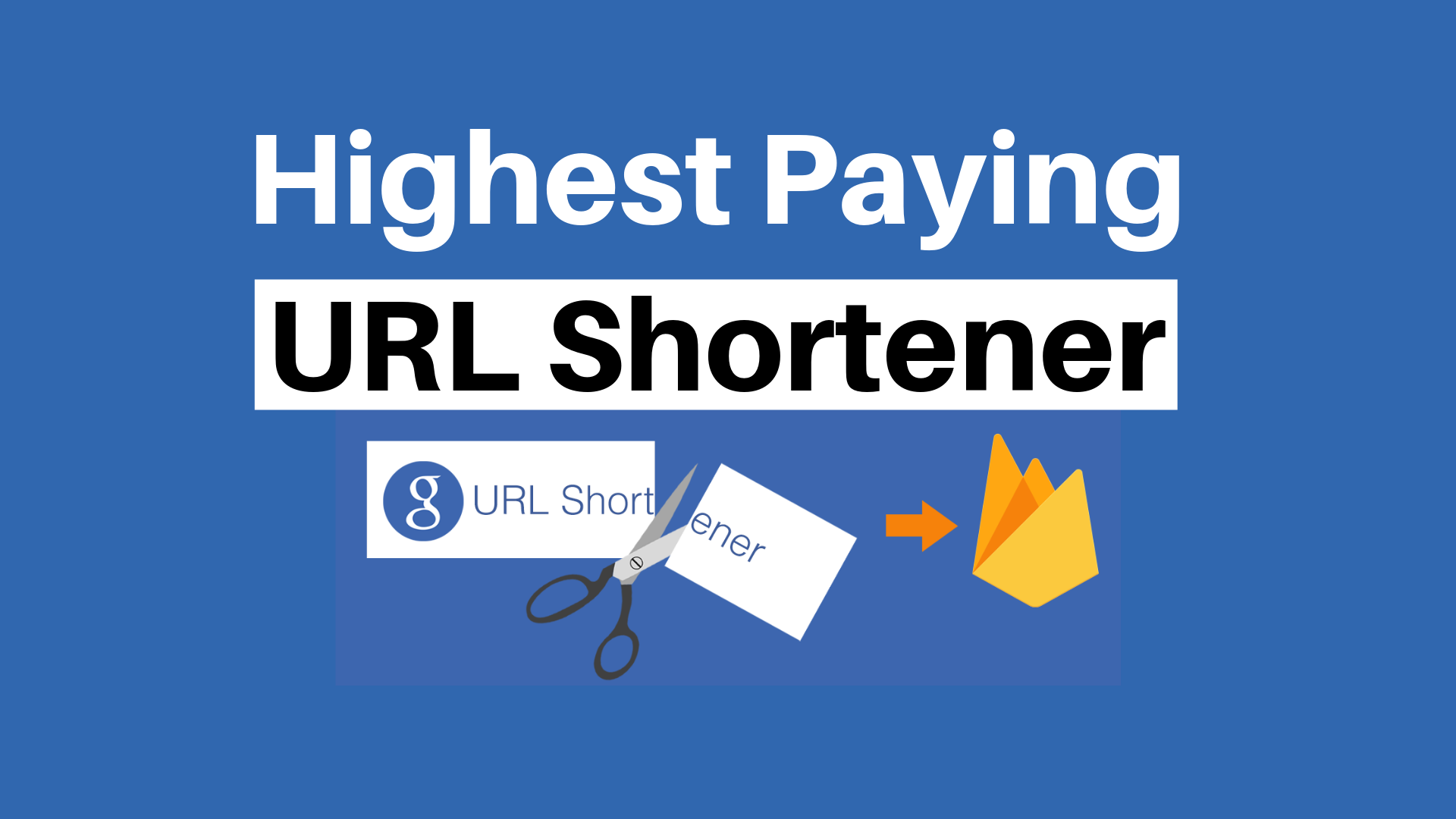 Best Highest Paying URL Shortner