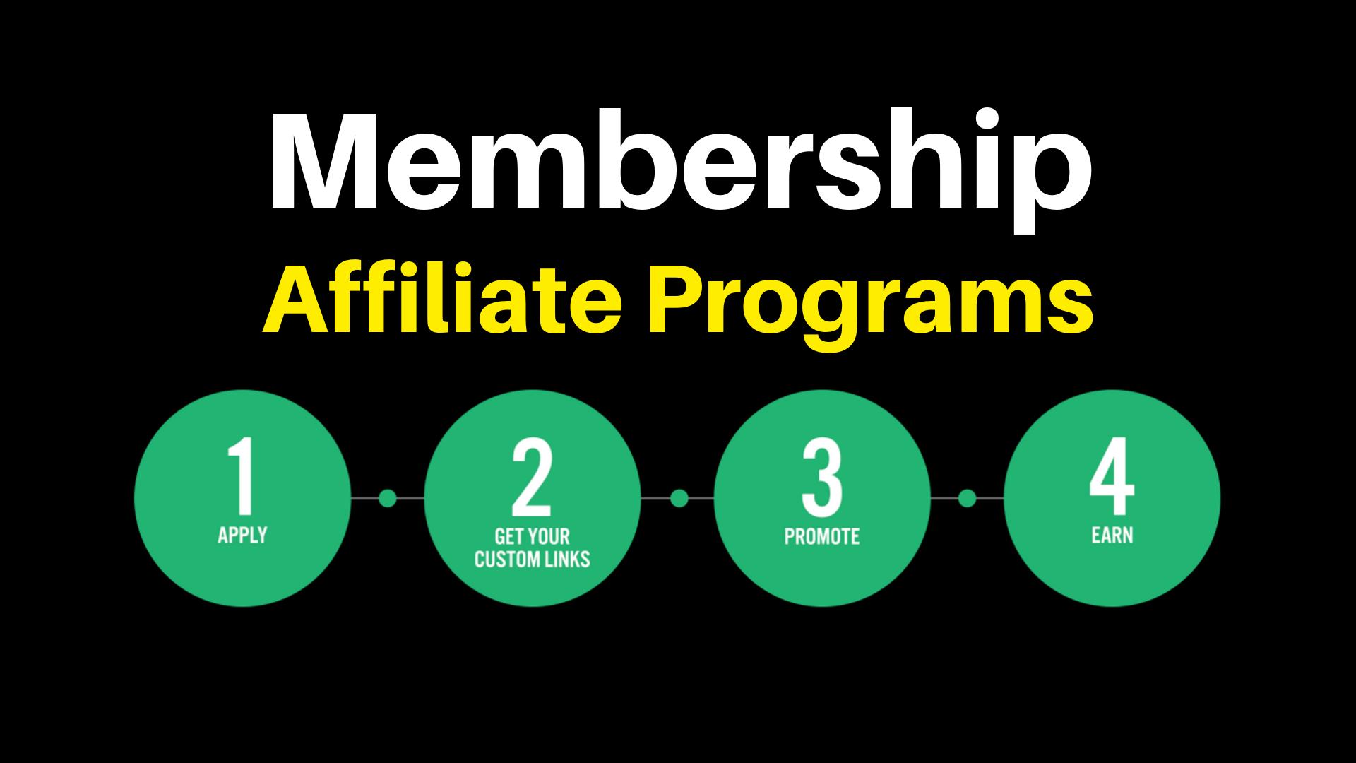 Best Membership Affiliate Programs