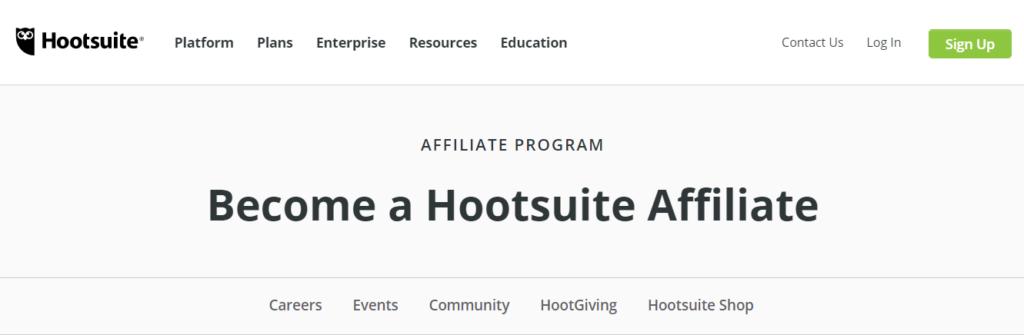 Hootsuite Affiliate