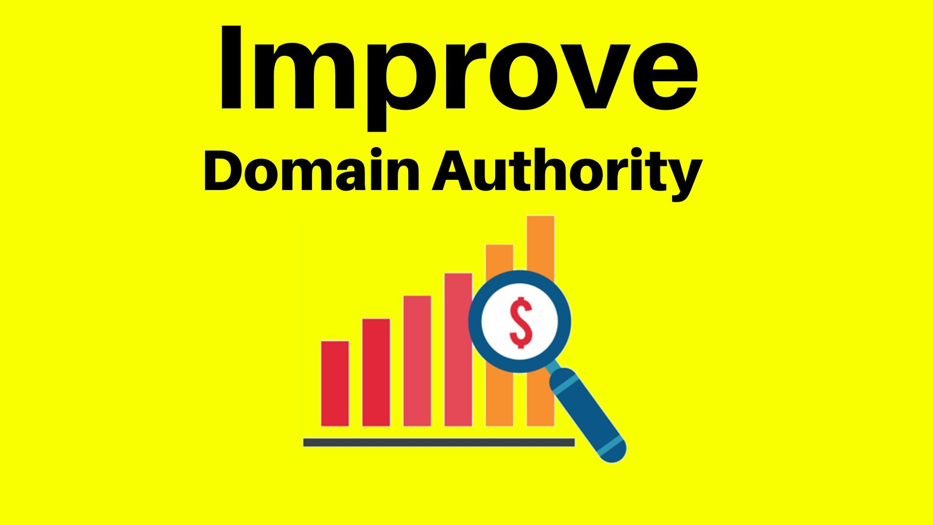 Improve Your Domain Authority