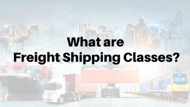 Freight Shipping Classes