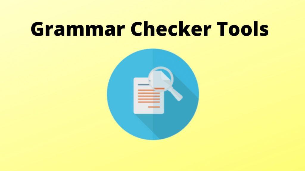 Top Grammar Checker Tools