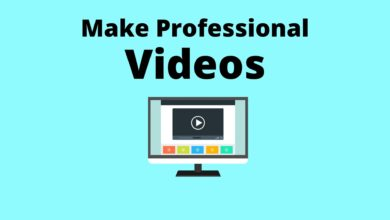 Make Professional Looking Video