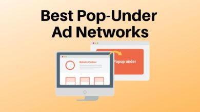 Pop-Under Ad Networks