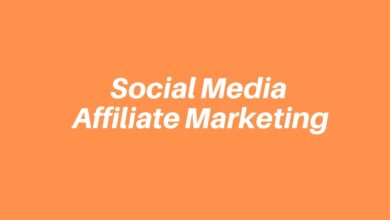 Social Media Affiliate Marketing 2020