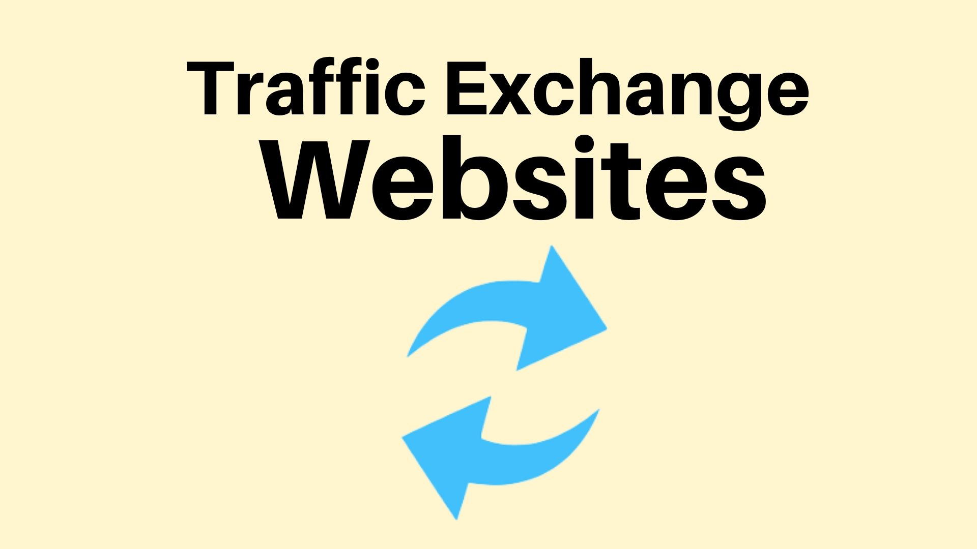 Traffic Exchange Websites