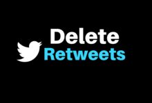 Delete Retweets