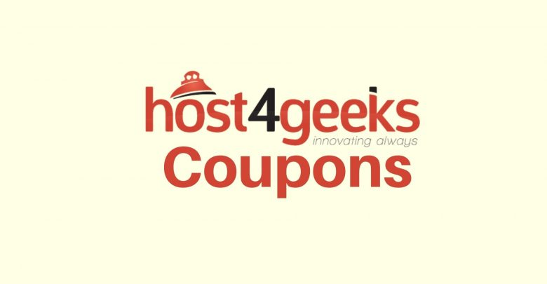 Host4Geeks Coupon Codes