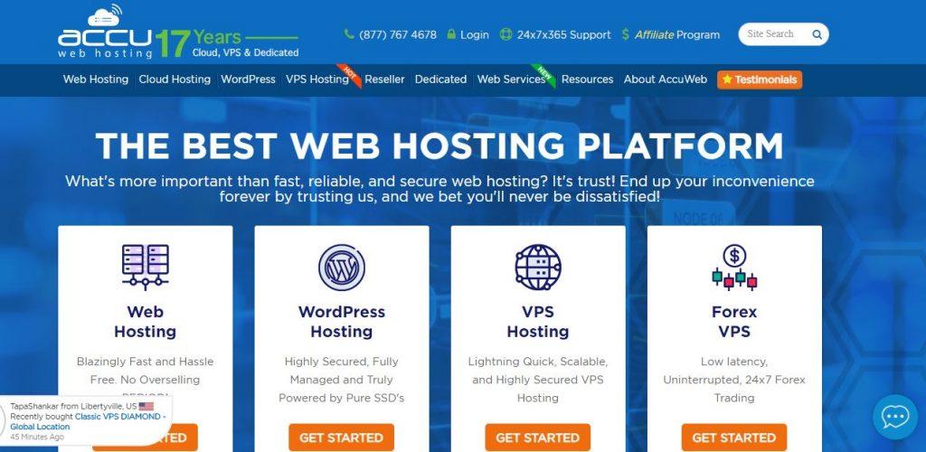 AccuWeb Hosting