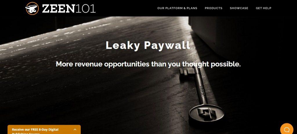 Leaky paywall