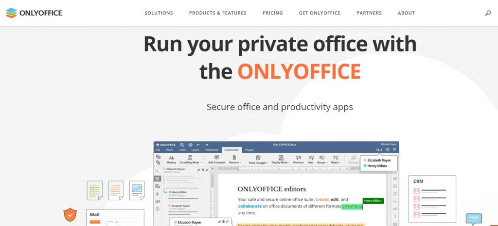 OnlyOffice Home