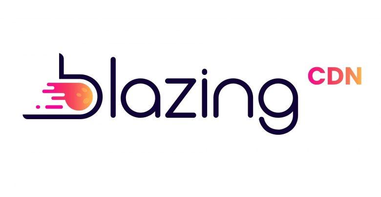 Blazing CDN Logo