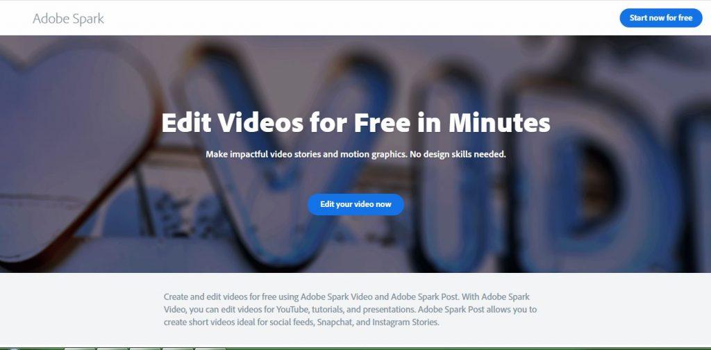 Adobe Spark Video Maker