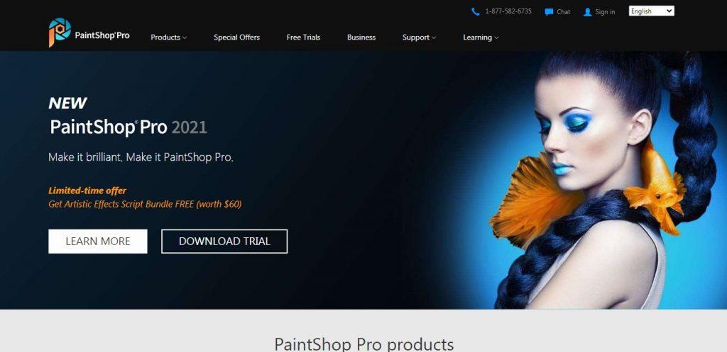 Coral PaintShop Pro