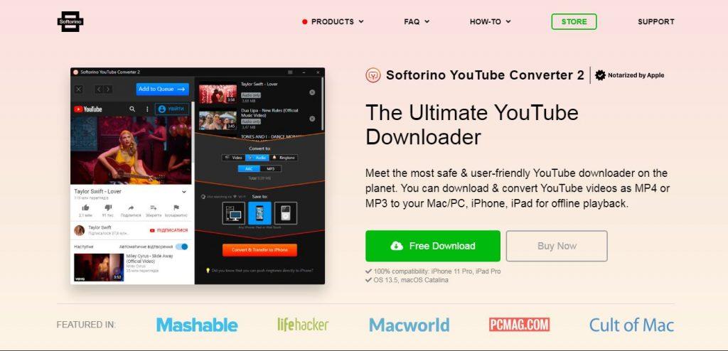 Softorino YouTube Converter