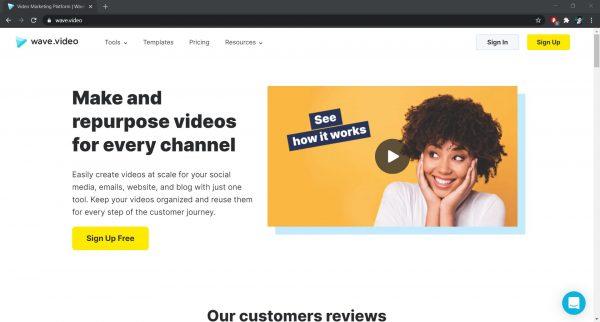 Wave Online Video Editor