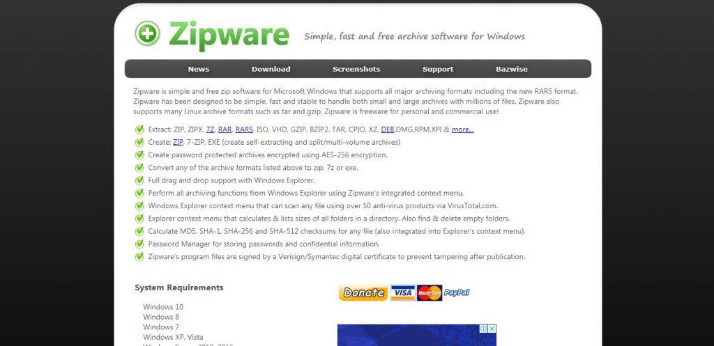 Zipware