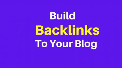 Build Backlinks To Your Blog