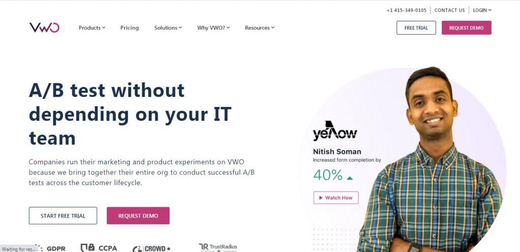 Visual Website Optimizer (VWO)