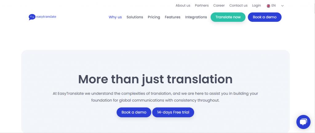 EasyTranslate Home