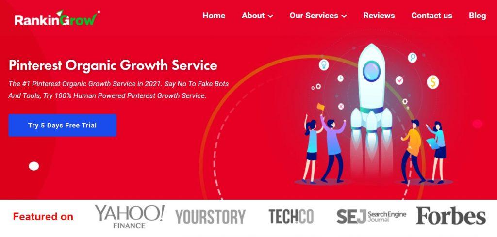 RankingGrow Pinterest Growth Service